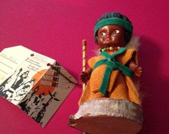 Lovely handmade Indian minature boy doll