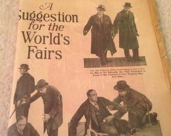 Vintage newspaper from turn of the 1900 century works fair.