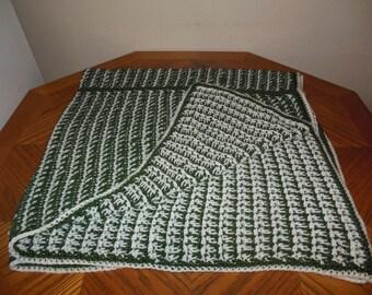 English Ivy Crocheted Blanket