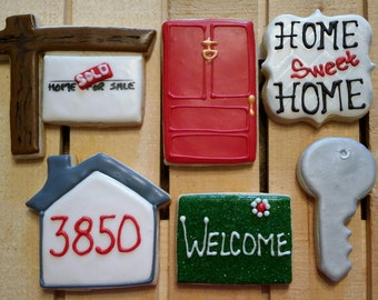 Real Estate cookies without custom logo