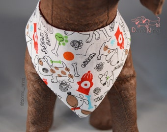 Ruffy Woofy Dog Bandana