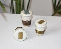 Set of 3 Vintage Electrical ceramics fuse ,Soviet House Wire Tubes electrical ceramic fuse USSR 1940-s