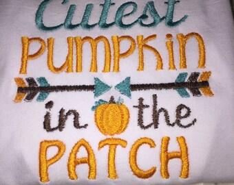 Fall cutest pumpkin in the patch