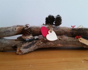 Large driftwood christmas decoration