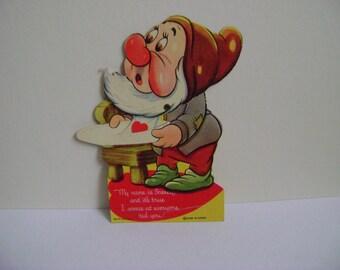 Disney Sneezy Mechanical Valentine