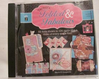 Teresa's Folded and Fabulous Cards CD