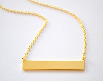Perfect Bar Necklace