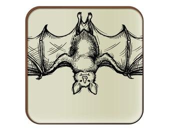 Bat Sketch coaster