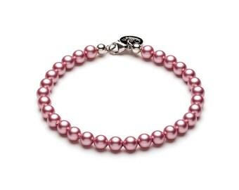 Swarovski ball bracelet • Rosé