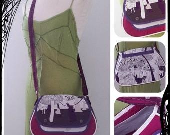 SaKdeFille at Rabat! purse has shoulder strap adjustable
