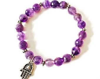 Andromeda Amethyst bracelet