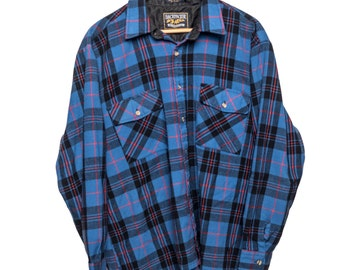 Blue Backpacker Outdoors Flannel