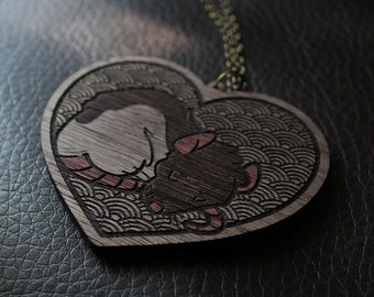 Fancy Rat Necklace