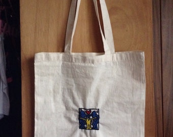 Grouplove tote - KEITH HARING