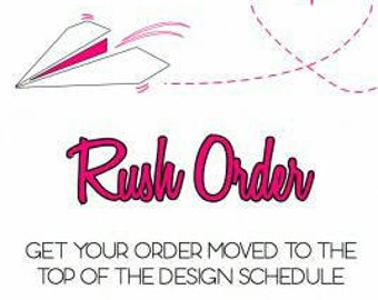 Need it now? I'll ship next business day just for your convenience!
