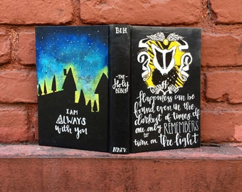 Harry Potter Inspired bible (hufflepuff house)