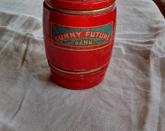 1940's-1950's-Sunny-Future-bank-brodhaven mfg.- NY