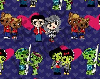 Monster Love 1/2 yd