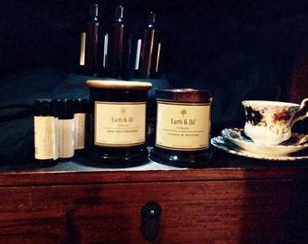 Natural Organic Soy Candles