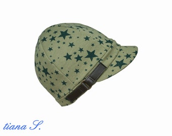 Star, sweat hat, Cap, khaki olive green