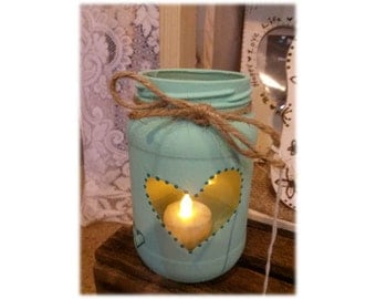 Heart Flameless Candle
