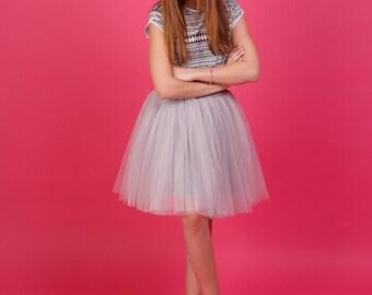 AIRSKIRT Mini Tulle skirt Tutu skirt