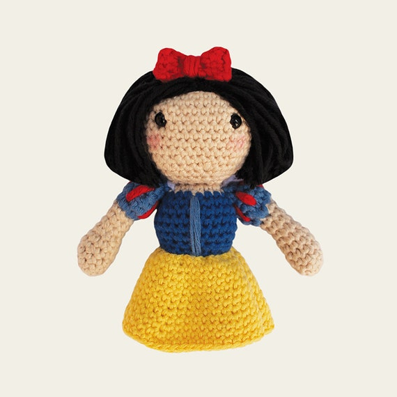 Snow White - Disney Princess. Amigurumi Pattern PDF.
