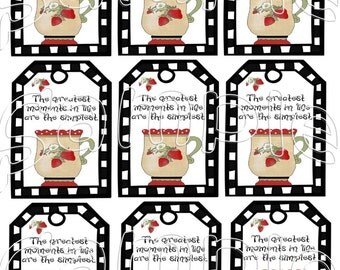 Greatest moments in life Immediate Download Hang Tags Digital Instant Download + BuY OnE GeT ThRee PrInTaBLeS FRee!