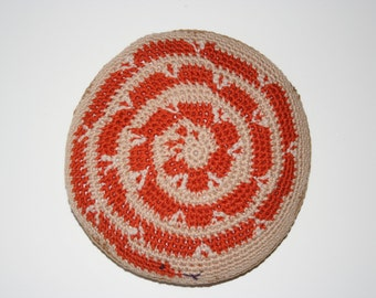 Pillows with motifs inspired by Native American Basket designs