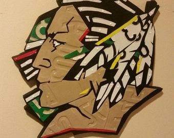 North Dakota Fighting Sioux Home Decor Wall Hanging