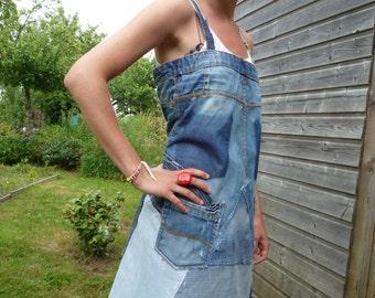 short apron dress