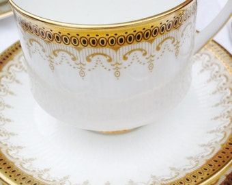 Extremely Elegant Paragon 'Athena' Vintage Teacup, Saucer & Side Plate, Perfect