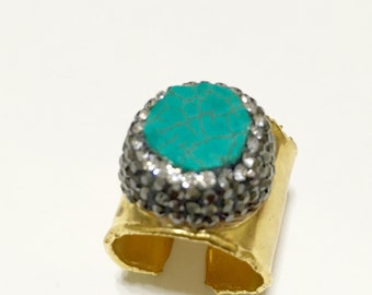 Turquoise Expandable Ring