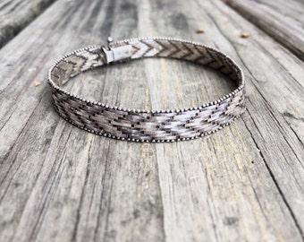 Vintage Sterling Silver Bracelet Made in Italy   #002