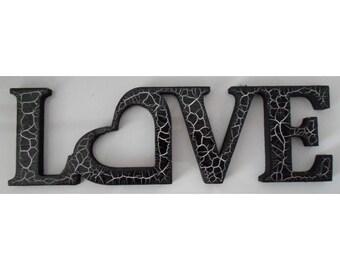 LOVE Word Art