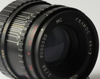 MC HELIOS 44-3. 58mm. f/2. M42.Soviet  Lens. MMZ