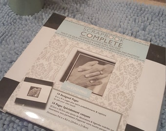 Wedding Scrapbook Album-something Blue