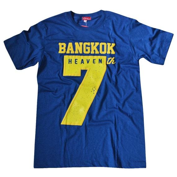 TepThaiTewa : Bangkok 7th Heaven Vintage Style Men's T-Shirt