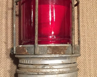 Vintage Appleton Explosion Proof Airport Runway/Taxiway Light