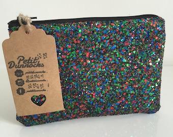 Christmas purse evening glitter clutch party bag