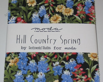 MODA - Hill Country Spring Charm Pack - 22 --   5 inch squares