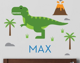Trex Wall Decal, Trex Decal, Dinosaur Decal - Large