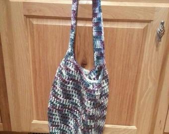 Crochet Cotton Market Bag free shipping