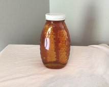 Chunk Honey - 100% Pure, Raw, Unfiltered - from North Carolina - 16 oz.