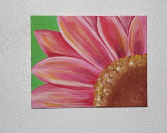 Acrylic Flower Painting