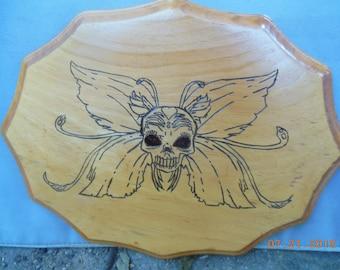Custom Woodburned Plaque