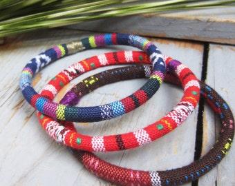 3 ethnic bangles