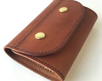 Leather Old School Fly Wallet