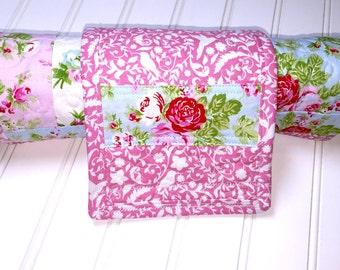LARGE Baby Changing Pad, Travel Changing Pad, Baby girl quilt - changing mat, diaper changing pad, floral changing pad