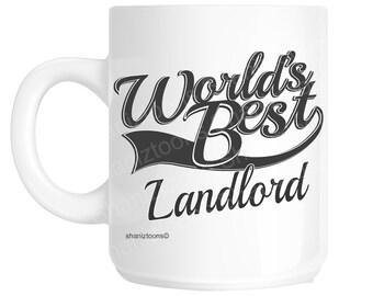 Landlord World's Best Novelty Gift Mug shan1005